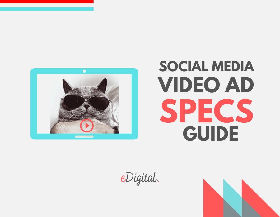 social media video ads specs sheet guide