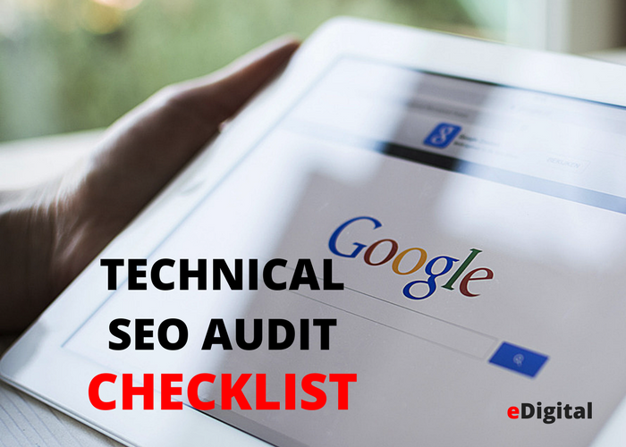 Technical SEO Audit checklist effective simple
