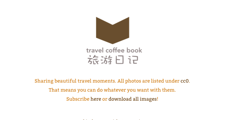 travel coffee book free photos online