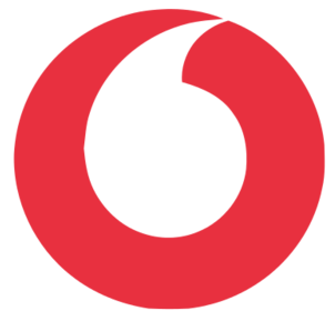 vodafone logo icon badge png red