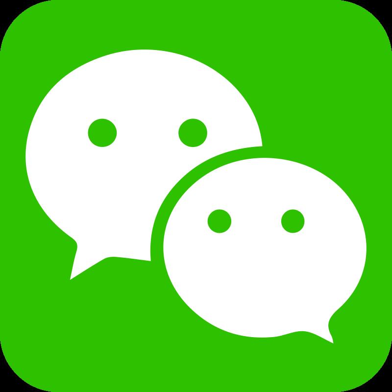 wechat logo png transparent background green