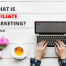 what is affiliate marketing - definition - meaning