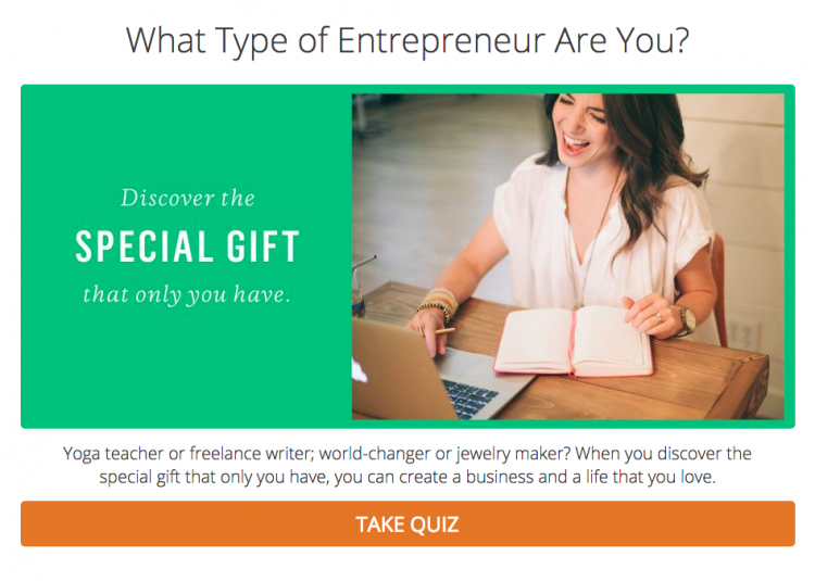 what type of entrepreneur are you quiz interact marie forleo